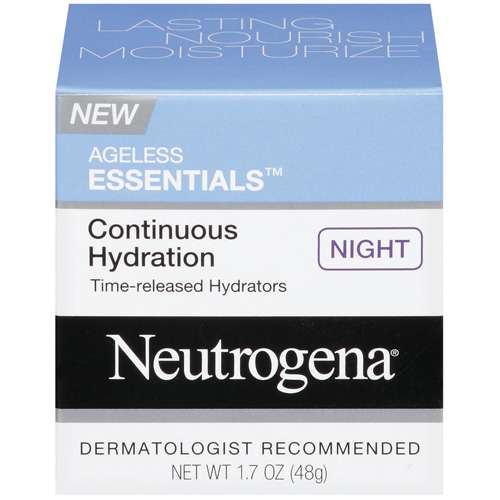 Neutrogena Ageless Essentials Continuous Hydration Night Cream, 1.7 oz