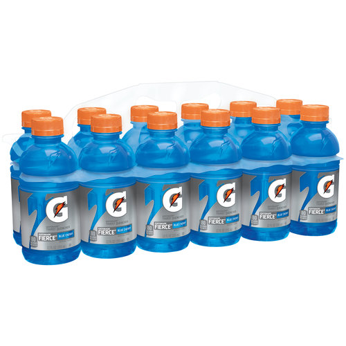Gatorade Fierce Blue Cherry Thirst Quencher Sports Drink, 12 fl oz, 12 pack