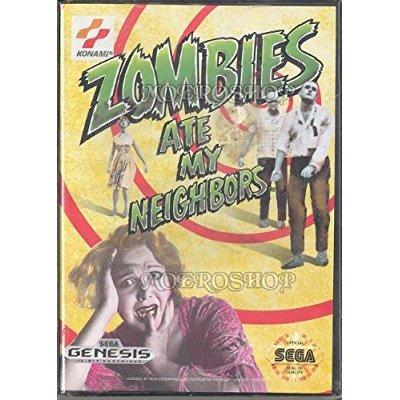 Zombies Ate My Neighbors Sega Genesis by Konami