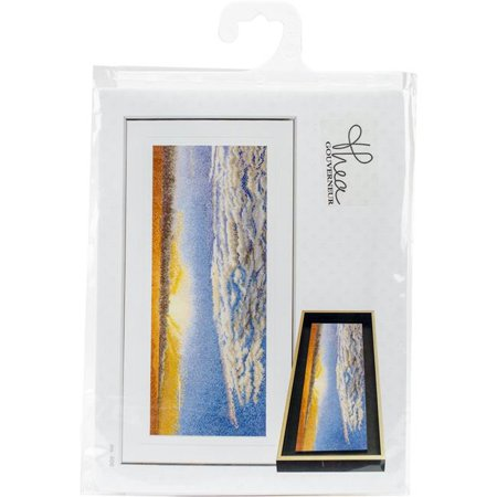 Thea Gouverneur TG406A Sky Study VI On Aida Counted Cross Stitch Kit - 5.75 x 13.75 in., 18 Count - image 1 of 1