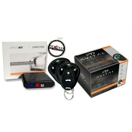 Refurbished Avital 5103L Car Alarm w/ Remote Start and DBALL2 Bypass Module