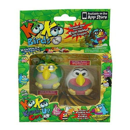 KooKoo Zoo Flocked Birds 2-Pack - Scalawag and Lollapalooza - image 1 of 1