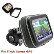 TomTom Bicycle & Motorcycle Handle Bar Mount with 5-inch Universal Case f/ GPS Navigators