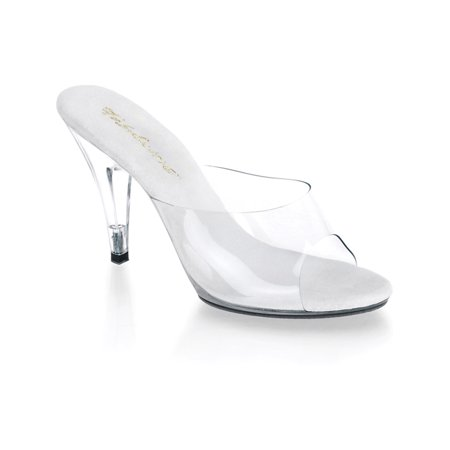 4 inch cute womens shoes clear prom shoes stiletto heel