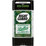 Right Guard Best Dressed Antiperspirant Deodorant Gel, Baller, 4 Ounce