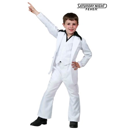 Child Deluxe Saturday Night Fever Costume - Saturday Halloween