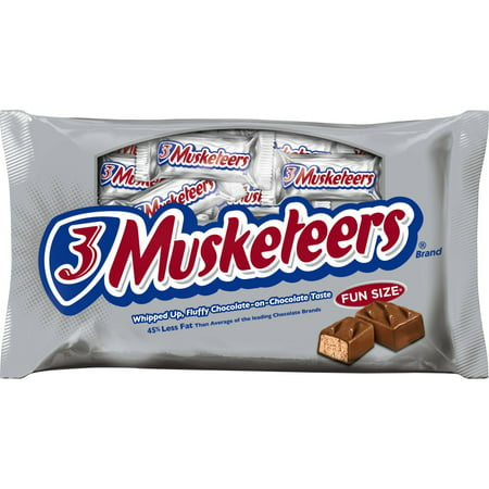 3 Musketeers Fun Size Chocolate Candy Bars, 11 Oz.](Halloween Chocolate Candy Apples)