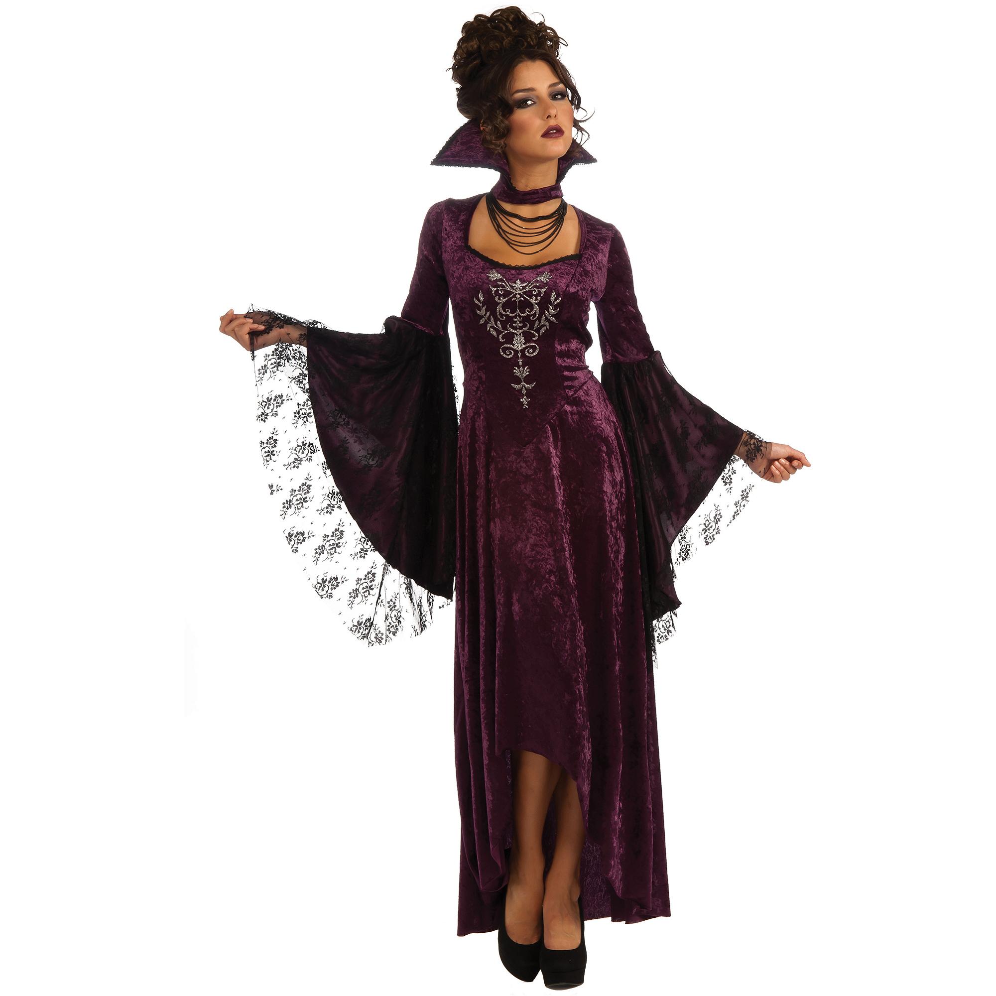 sc 1 st  Walmart & Violet Vamp Womens Halloween Costume - Walmart.com