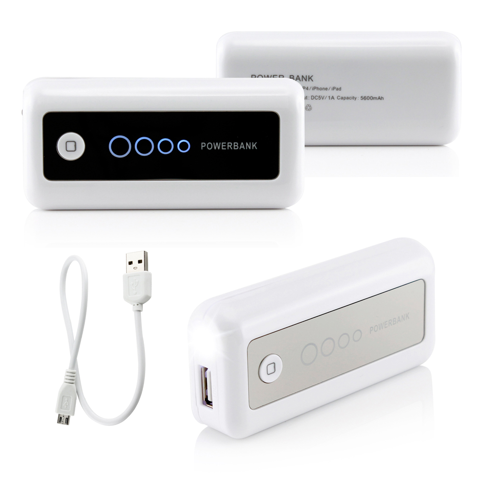 5600mAh Universal Power Bank Backup External Battery Pack Portable USB Charger Charging for Mobile Cell Phone iPhone  sc 1 st  Walmart & 5600mAh Universal Power Bank Backup External Battery Pack Portable ...