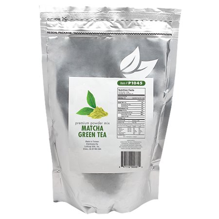 Tea Zone MATCHA GREEN TEA Premium Powder Mix for Boba Bubble Tea, Slush, Smoothies 2.2