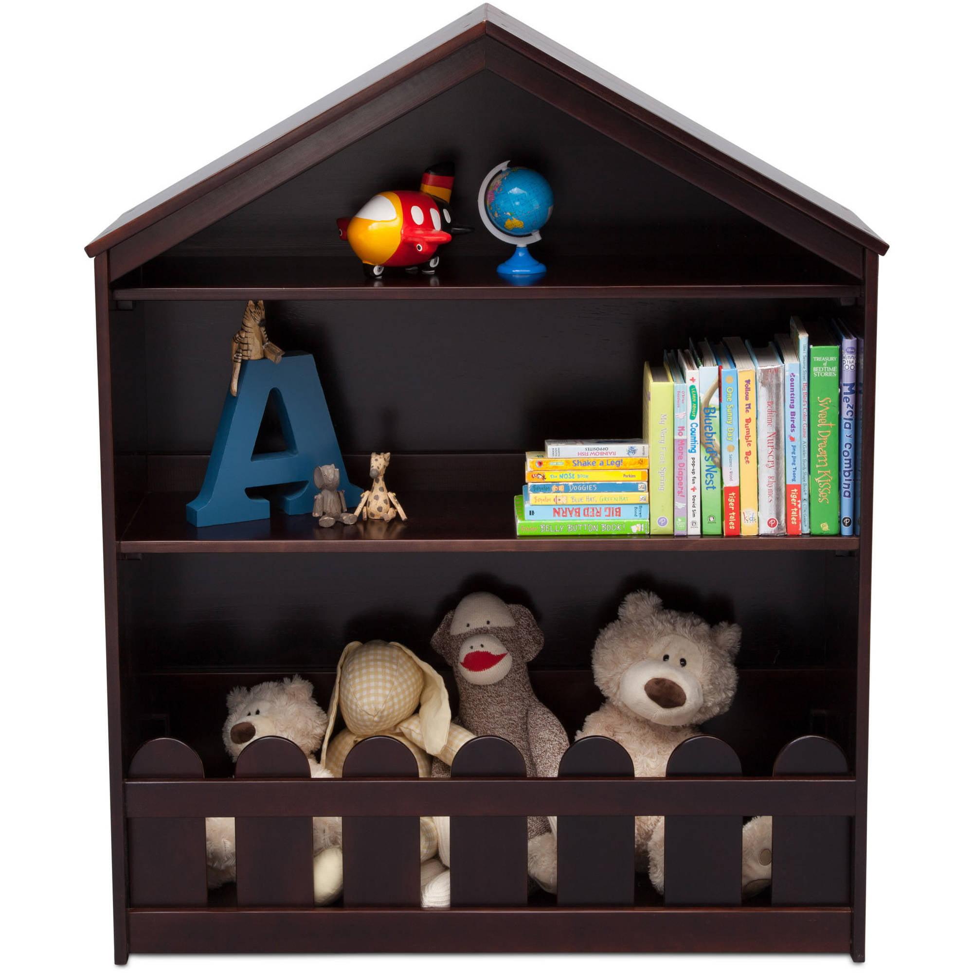 Serta Happy Home Storage Bookcase, Multiple Colors