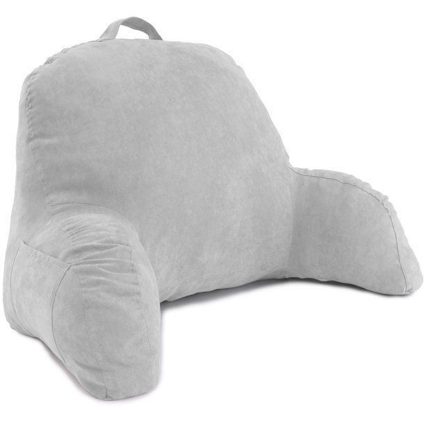 Deluxe Comfort Microsuede Bed Rest Reading And Bedrest Lounge