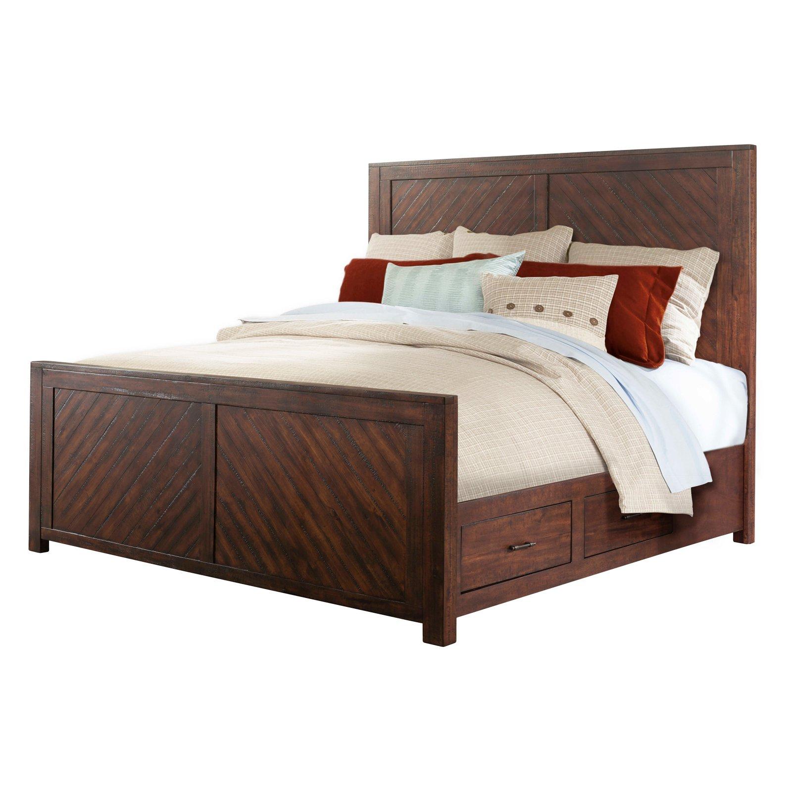 Picket House Dex King Platform Storage Bed
