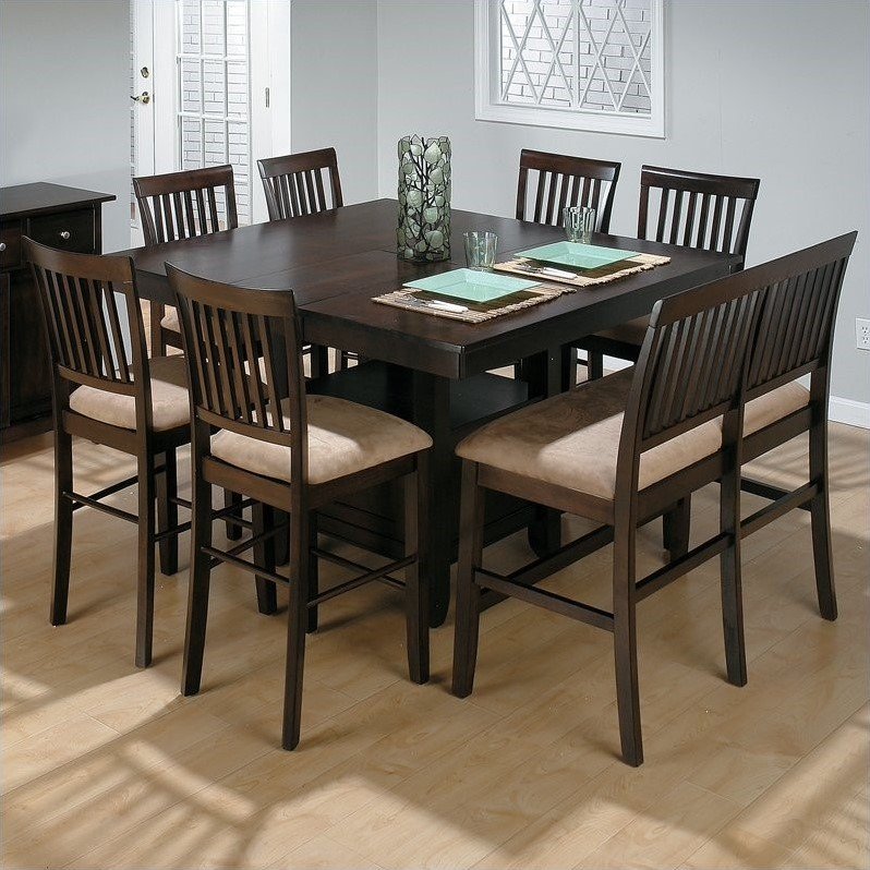 Jofran 6 Piece Counter Height Dining Room Set in Baker's Cherry by Jofran