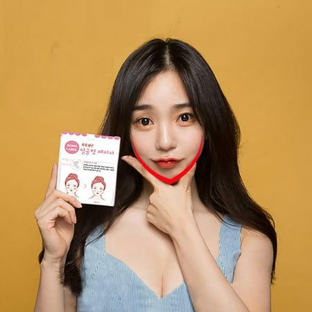 SUPERHOMUSE V Shape Face Label Lift Up Fast Maker Chin Adhesive Tape Makeup Face Chin Lift