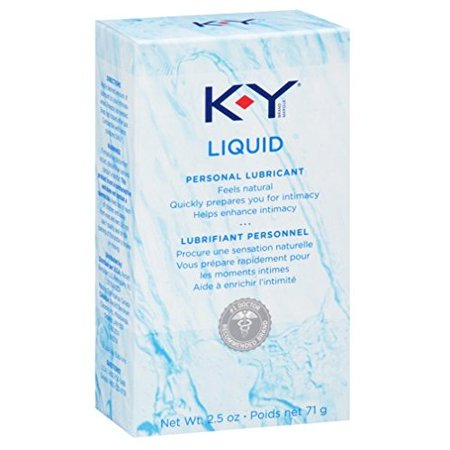 K-Y Personal Water Based Lubricant - 2.5 oz