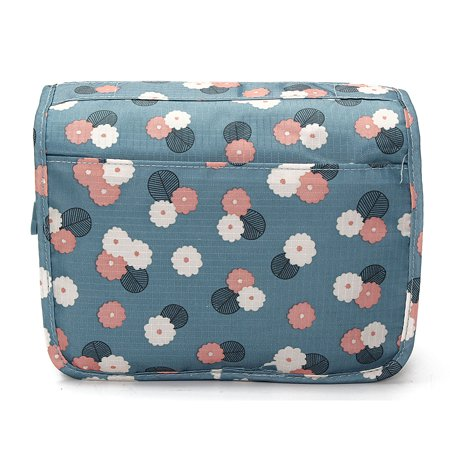 Portable Hanging Toiletry Bag/ Portable Travel Organizer Carry Tote Cosmetic Bag for Women Makeup or Men Shaving Kit with Hanging Hook for vacation  - image 3 of 6