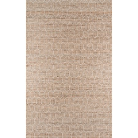Momeni Bengal Jute and Cotton Hand Woven Natural Area Rug 2' X (Hand Woven Natural)