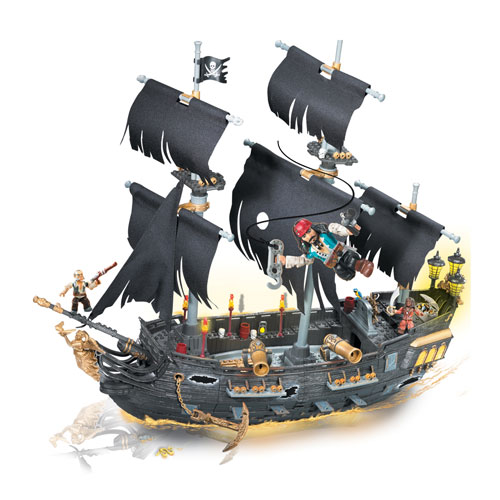 Mega Bloks Pirates of the Caribbean 3 Black Pearl Flagship