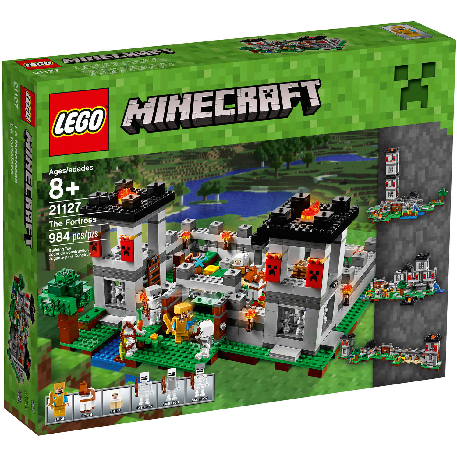 Lego Minecraft The Fortress 21127 by LEGO Systems, Inc.