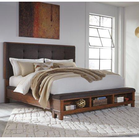 Signature Design By Ashley Ralene Upholstered Storage Panel Bed