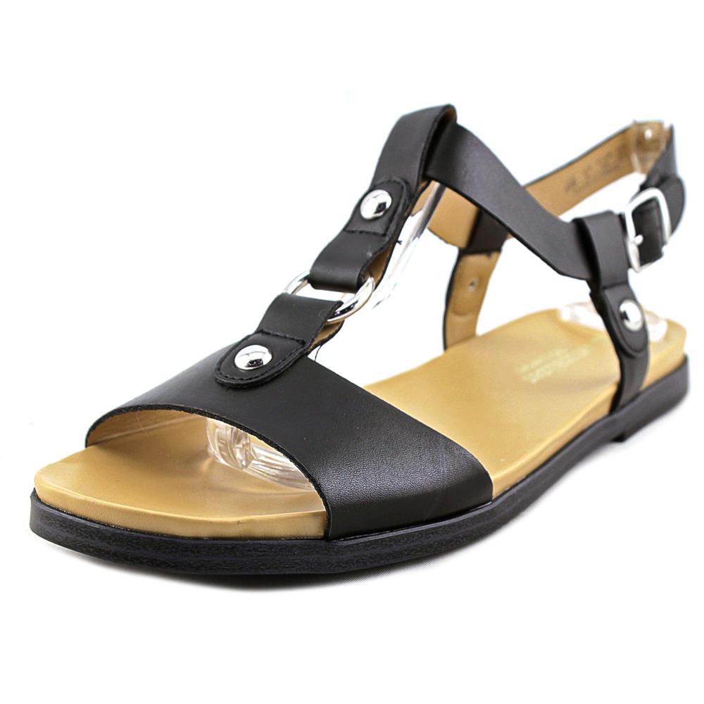 Naturalizer Kameron Women Open Toe Synthetic Black Gladiator Sandal by Naturalizer