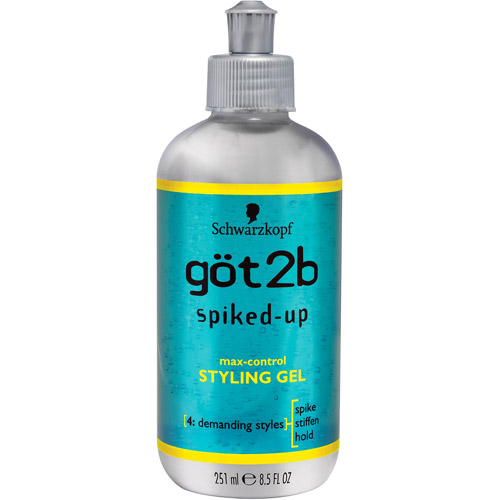 Göt2b Spiked-Up Max-Control Styling Gel 8.5 fl. oz. Bottle