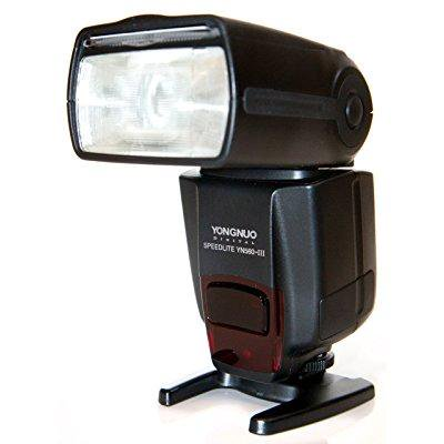 yongnuo yn560-iii-usa speedlite flash with integrated 2.4-ghz receiver for canon, nikon, pentax, olympus, gn58, us warranty