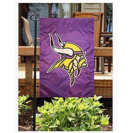 MINNESOTA VIKINGS GARDEN / CAR WINDOW FLAG (Minnesota Vikings Party Pack)