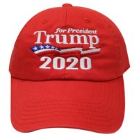 ef2ef60fa4c60 Product Image C104 Trump for President 2020 Flag Cotton Baseball Cap - Red