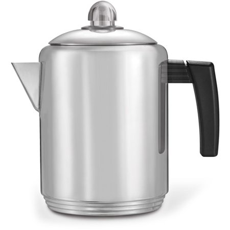 Copco 4- to 8-Cup Stovetop Stainless Steel Percolator