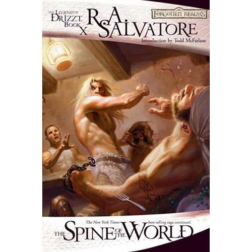 The Spine of the World: The Legend of Drizzt Book 12