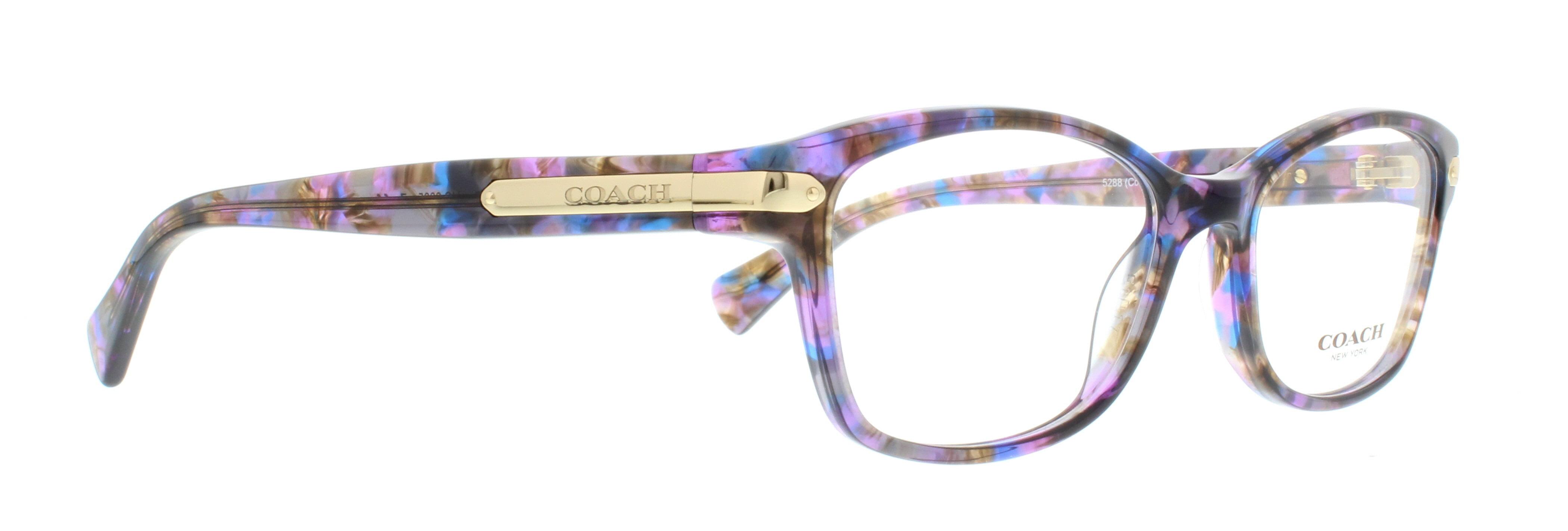 fadd24160d ... italy coach eyeglasses hc6065 5288 confetti purple 51mm walmart 68e2e  6af85