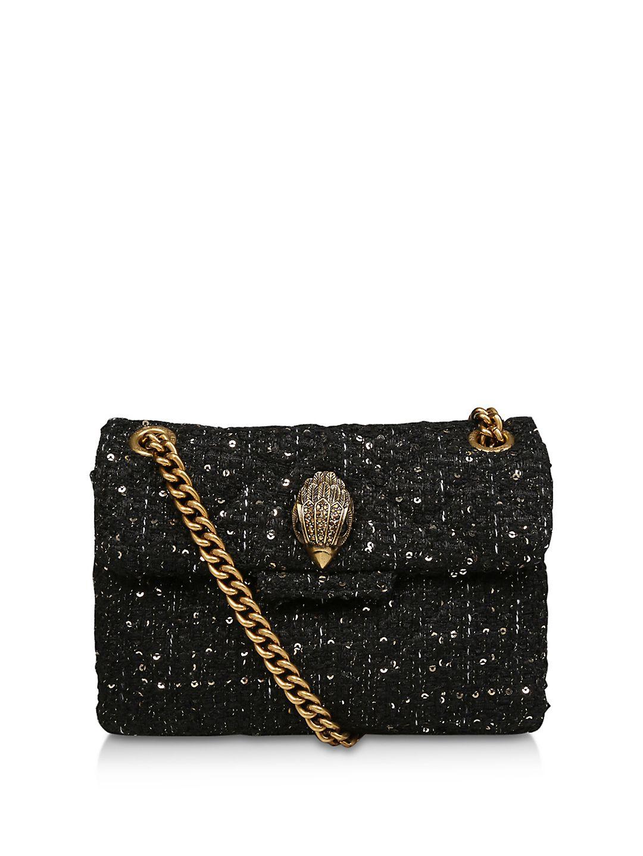 Kensington Mini Tweed Crossbody Bag