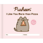 Pusheen: I Like You More than Pizza : A Fill-In Book
