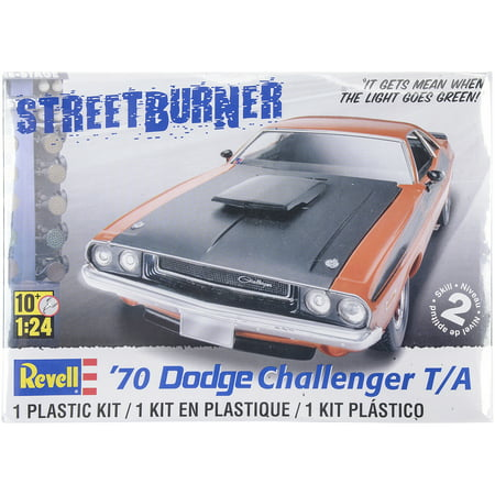Plastic Model Kit-'70 Dodge Challenger T/A 2 In 1 (Best Molecular Model Kit)