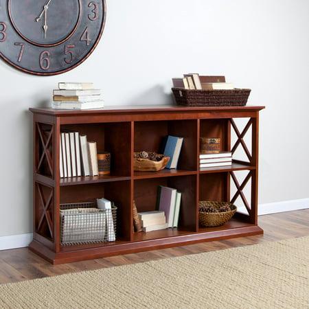 Belham Living Hampton TV Stand Bookcase - Cherry ()