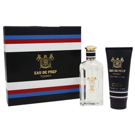 Tommy Hilfiger Eau de Prep Tommy Mens Cologne gift set, 3.4 Oz edt spray, 3.4 Oz body wash