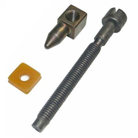 Husqvarna Chain Saw Replacement Chain Tensioner # 501537101 Includes (1) 501537101 Chain TensionerNew, Bulk PackedGenuine OEM Replacement Part # 501537101Consult owners manual for proper part number identification and proper installationPlease refer to list for compatibilityCompatible with the following: Husqvarna: 61 Chain, 66 Chain, 266 Chain, 268 Chain, 272 Chain, 272 XP Chain, 281 Chain, 288 Chain, 288 EPA Chain, 162 Chain, 181 Chain, 281XP Chainsaw Poulan: PP475 Chain, PP415 Chain, PP425 Chain, PP505 Chainsaw