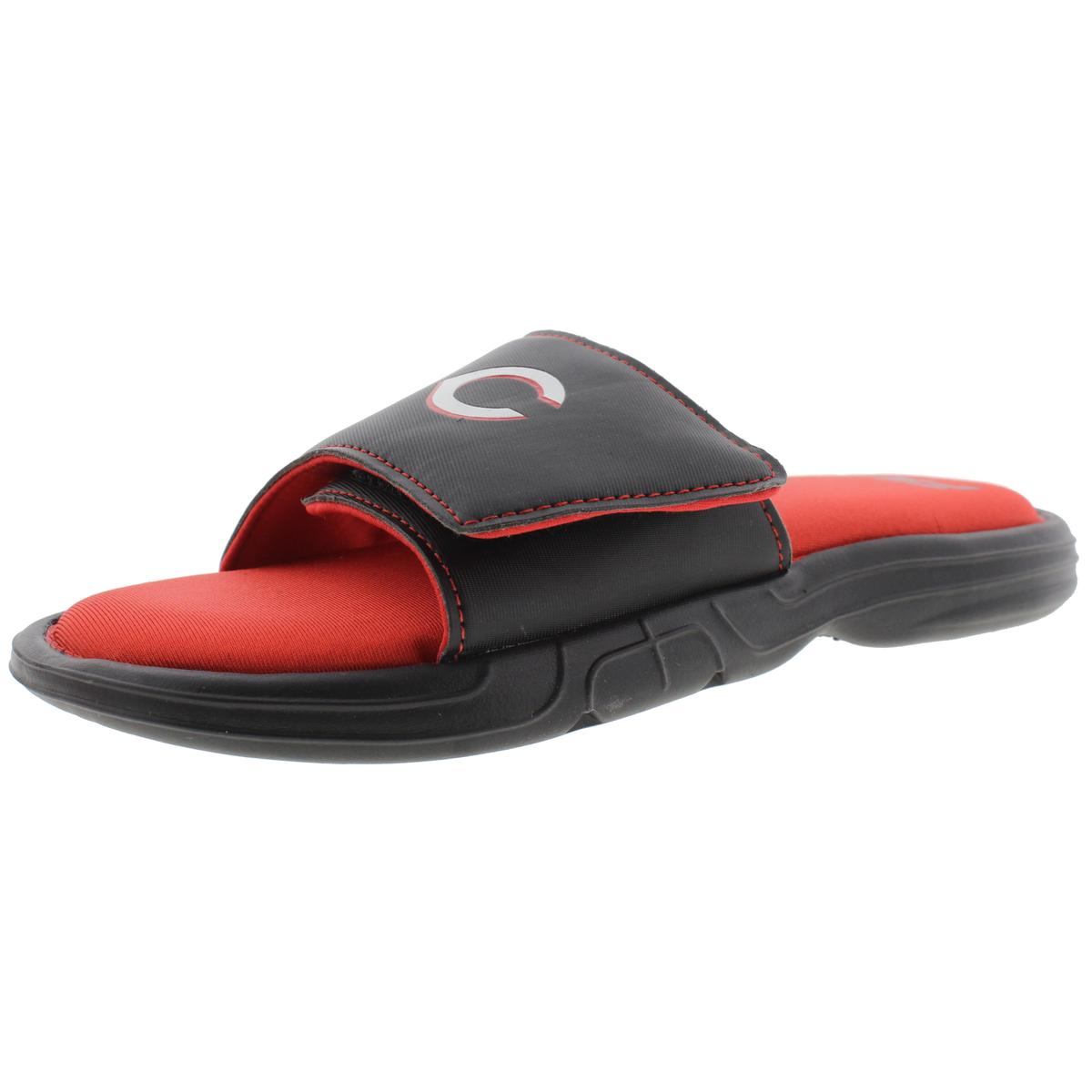 Fila Mens MLB Hudson Memory Foam Printed Slide Sandals by Fila