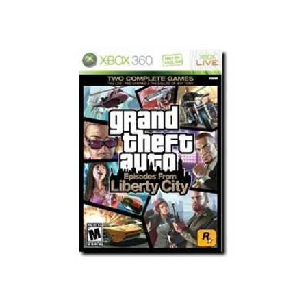 Grand Theft Auto: Episodes From Liberty City, (Pre-Owned), 2K, Xbox 360,