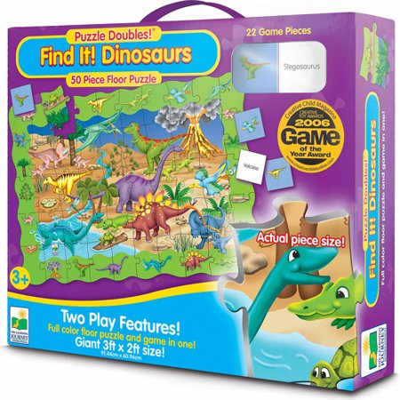 The Learning Journey Puzzle Doubles  Find It  Dinosaurs