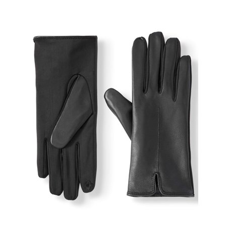 Time and Tru Basic Leather Glove Leather Reversible Gloves
