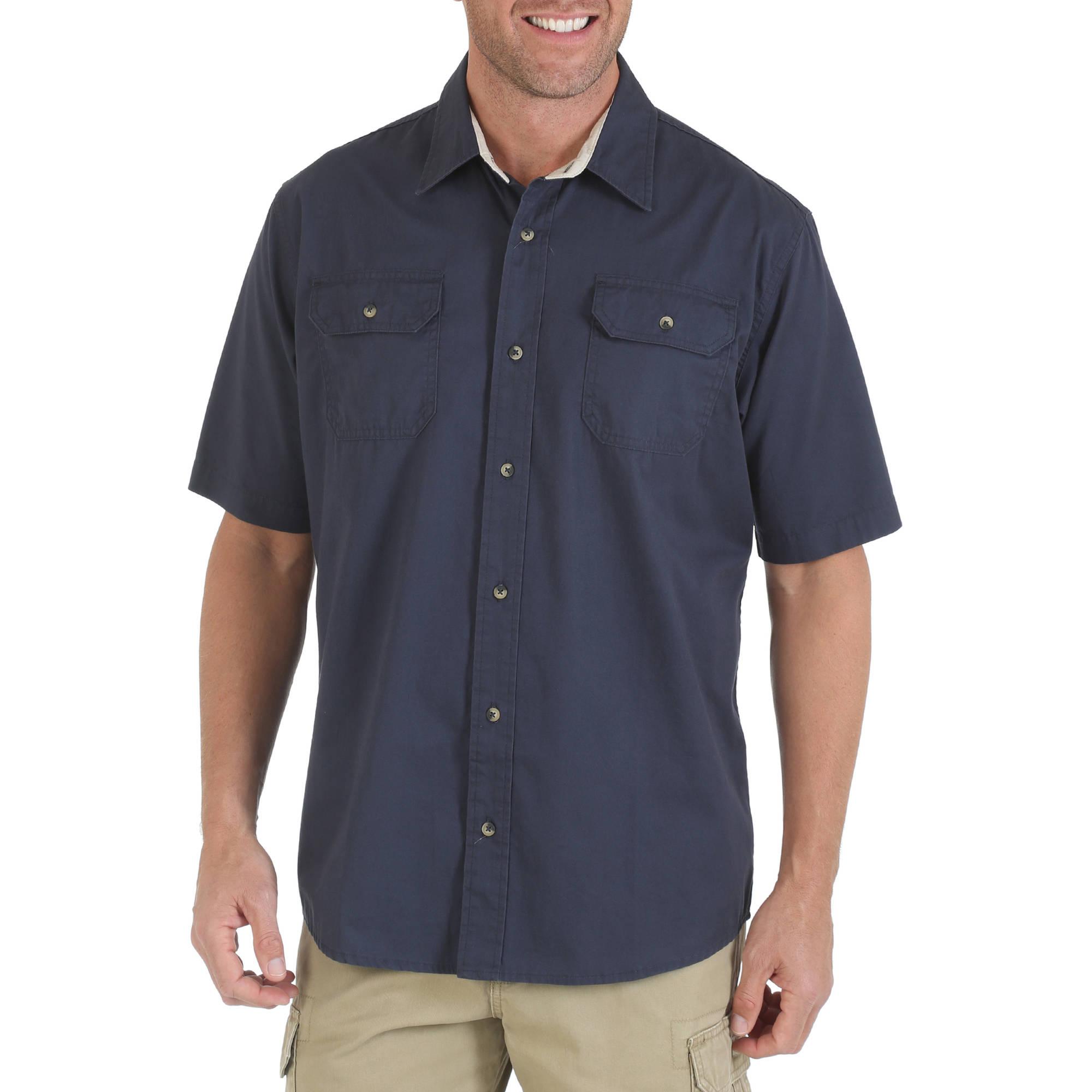 Wrangler Men's Short Sleeve Woven Shirt