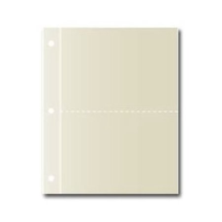 CR Gibson QP-13 Large Recipe Binder Pocket Page Refill Multi-Colored