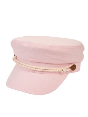 b57e9d8d6f580 Product Image Ladies Time and Tru Light Pink Linen Fisherman Cap with White  Rope Embellishments