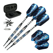 Viper Astro 80% Tungsten Soft Tip Darts Blue Rings 16 Grams