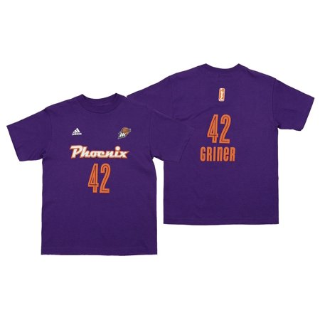 Adidas WNBA Youth Phoenix Mercury Brittney Griner #42 Player's Jersey, Purple ()