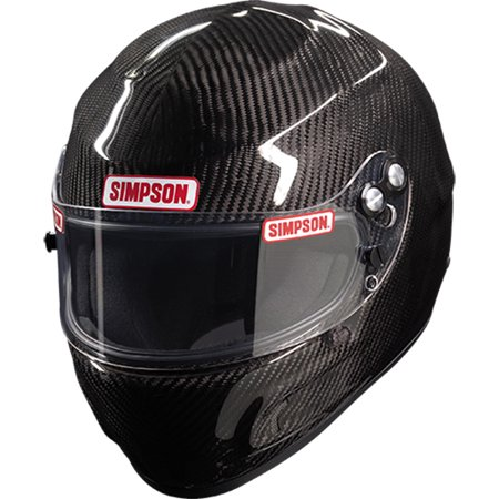 - Simpson Racing Helmet  Carbon Fiber Devil Ray SA15