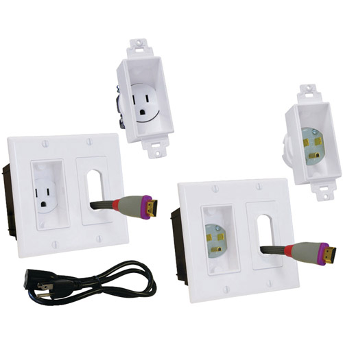 Midlite 2A46-W-3 Decor In-Wall Power Solution Kit